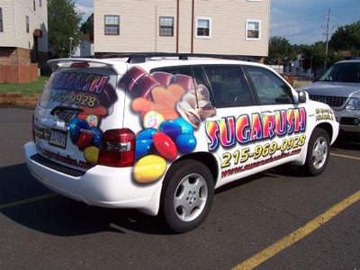 Custom vinyl car wraps allow you to promote your philadelphia area business 24 7 an affordable solution vehicle wraps turn your car into a mobile
